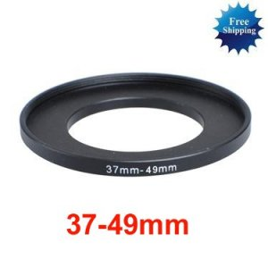 37mm-49mm 37-49 mm 37 to 49 Step Up Ring Filter Adapter