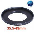 35.5mm-49mm 35.5-49 mm 35.5 to 49 Step Up Ring Filter Adapter