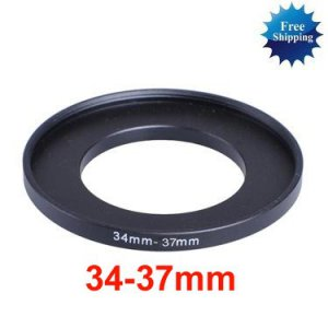 34mm-37mm 34-37 mm 34 to 37 Step Up Ring Filter Adapter