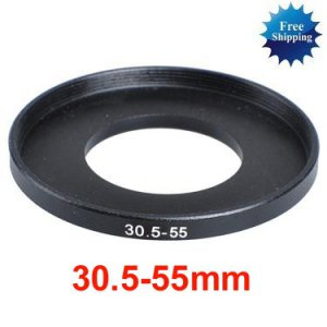 30.5mm-55mm 30.5-55 mm 30.5 to 55 Step Up Ring Filter Adapter