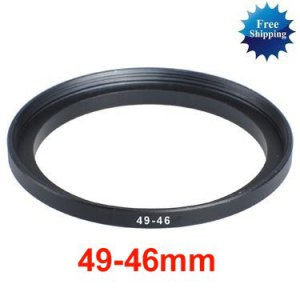 49mm-46mm 49-46 mm 49 to 46 Step Down Ring Filter Adapter