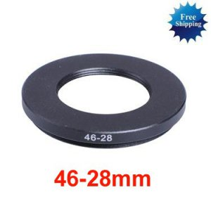 46mm-28mm 46-28 mm 46 to 28 Step Down Ring Filter Adapter