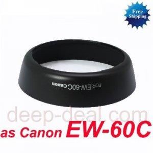 EW-60C Lens Hood for CANON EF-S 18-55mm f/3.5-5.6 IS II