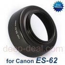 ES-62 Lens Hood for Canon EOS EF 50mm f 1.8 II