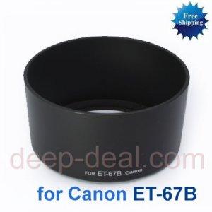 ET-67B ET67B Lens Hood CANON EF-S 60mm f 2.8 USM Macro
