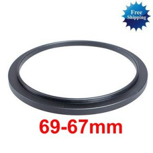 69mm-67mm 69-67 mm 69 to 67 Step Down Ring Filter Adapter