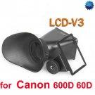 """2.8X 3 """" inch 3:2 LCD viewfinder extender screen magnifier Canon 600D 60D DSLR"""