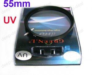 55mm 55 UV Filter Lens Protector