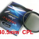 40.5 mm Circular Polarizing C-PL PL-CIR CPL Filter