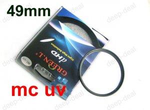 49 mm Multi Coated Ultraviolet MCUV MC UV Filter