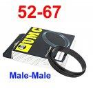 Male 52mm-67mm 52-67 mm Macro Reverse Ring / reversing