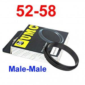 Male 52mm-58mm 52-58 mm Macro Reverse Ring / reversing