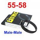 Male 55mm-58mm 55-58 mm Macro Reverse Ring / reversing
