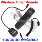 YONGNUO MC-36R/C3 Wireless Timer Remote CANON 50D 5D II 7D 1D IV