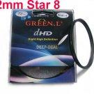 Green.L 52mm Star 8 Point 8PT Filter for 52 mm LENS