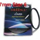Green.L 77mm Star 6 Point 6PT Filter for 77 mm LENS