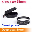 XPRO-F260 58mm Close-Up Lens Macro lens Super Macro Conversion Lens