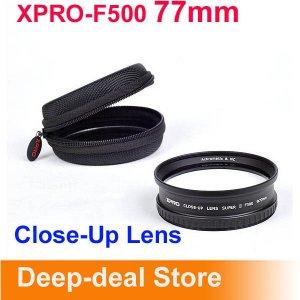 XPRO-F500 77mm Lens Macro lens Super Macro Conversion Lens
