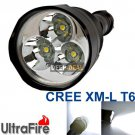 TrustFire 3x CREE XML T6 3800 Lumen LED Flashlight Torch