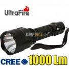 UltraFire C8 CREE XM-L T6 LED 1000 Lumen Flashlight Torch