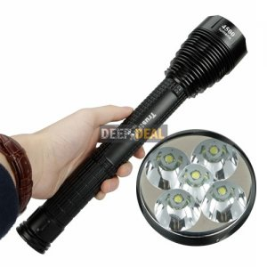 TrustFire TR-J12 CREE XML T6 5 LED Flashlight Torch 4500LM