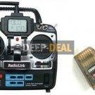 Radiolink 2.4Ghz T7F 7CH Transmitter System(TX/RX) Airplane/Heli
