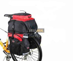 Cycling Bicycle Bag Bike rear seat bag pannier backpack Traveller Pannier