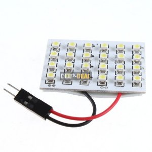 1210 24 SMD LED Bulb Bulbs WHITE Car Moto Tail light