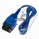 OBD2 OBD II Diagnostic USB Cable For KKL409.1 VAG-COM 409