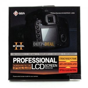 GGS BF LCD Glass Screen Protector for Canon EOS 5D Mark III 5D3