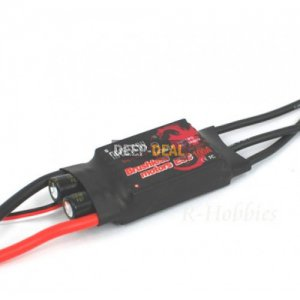 Mystery FlyFun-40A Brushless Speed Controller ESC 3A / 5V BEC 35g 2-6S 450 heli