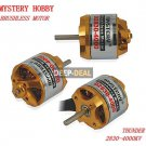 Mystery D2830-4000 Outrunner Brushless Motor for RC plane