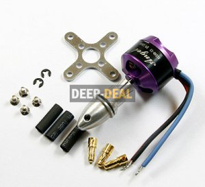 SUNNYSKY A2208-2600KV Brushless 39G Motor 260w prop 5035 5045 7035 6030