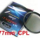 77mm Circular Polarizing C-PL PL-CIR CPL Filter