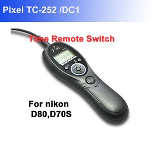 Pixel TC252/DC1 Timer Remote Shutter Release for Nikon DSLR D80 D70S