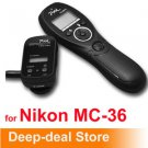 Wireless Timer Remote Shutter Release nikon MC-36 D700 D300 D200 D300s D100