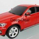 Rastar BMW X6 1:24 scale Remote Radio Control RC Model Car Red