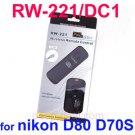 RW-221 DC1 Wireless Shutter Release Remote Control f Nikon DSLR D80 D70S