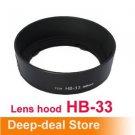 hb33 HB-33 Lens Hood NIKON AF-S DX 18-55mm f/3.5-5.6G ED II nikon HB33