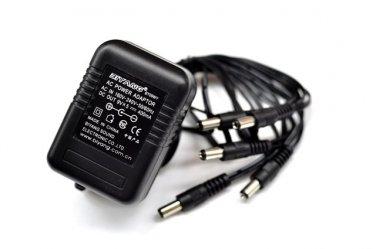 Biyang 9V 5-Way AC Power Adapter for Guitar Effects Pedals EU