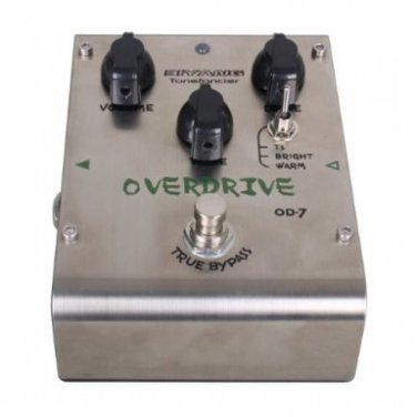 Biyang OD-7 Electric Guitar Effect Pedal Overdrive Distortion True Bypass