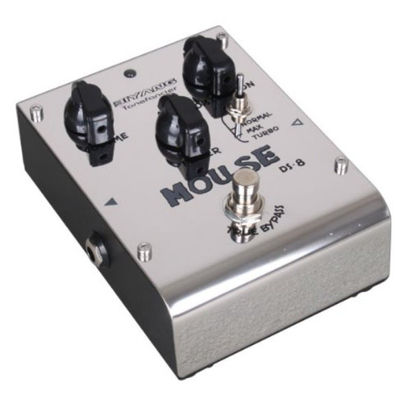 biyang guitar effects pedal mouse distortion 3 models ds 8 true bypass. Black Bedroom Furniture Sets. Home Design Ideas