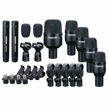 Takstar DMS-D7 Drum Set Series Black Series Drum Kit 7 Microphones drum microphone kits