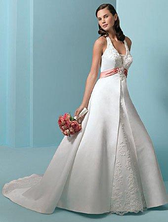 Cystom made wedding dress