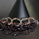 Susannah - Swarovski crystal bracelet w/sterling silver clasp