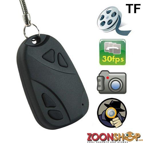 Mini Car Key Spy Camera, With USB, up to 8GB