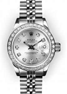 Womens Rolex Presidents watch