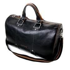 Toscanella natural leather duffle bag