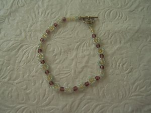 Beaded Bracelet or Anklet