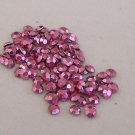 3mm Hot Fix Rhinestuds Med Pink   1gross(144pcs)